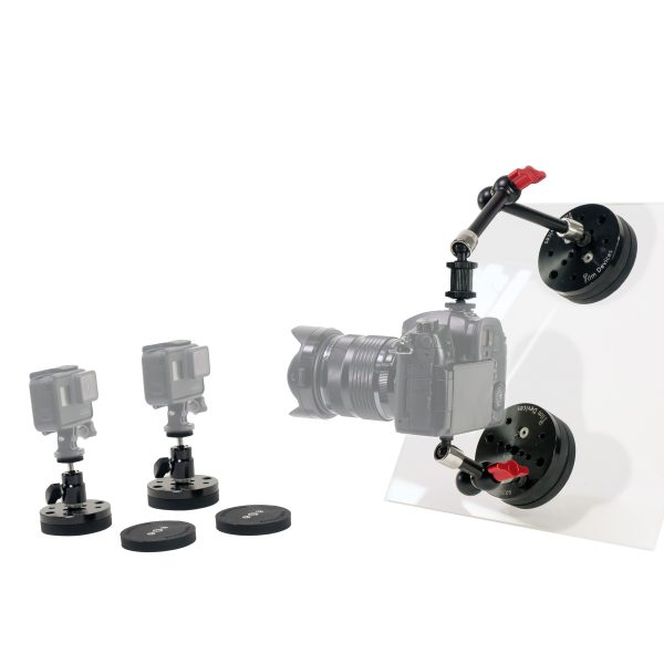 Camera Magnetic Car Mount Kit - For Driving Interviews