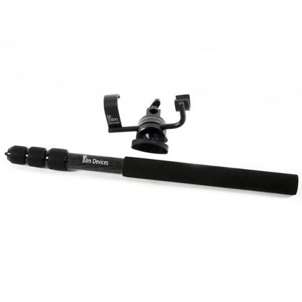 Microphone Travel Boom Pole Kit Lightweight Carbon Fiber
