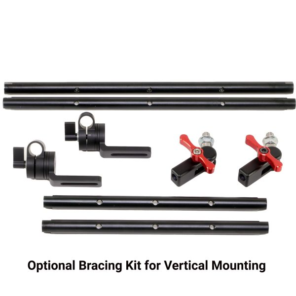 Bracing Kit for Vertical Mounting - Vibration Isolator Extension Arm Bracket