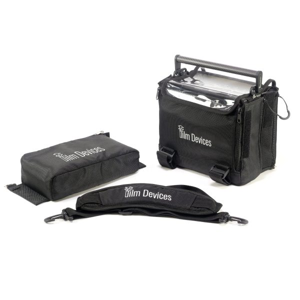Film Devices Rack-N-Bag with Exterior Pouch, Carbon Fiber Handle and Shoulder Strap