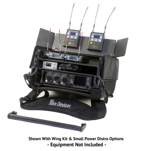 Film Devices Rack-N-Bag with Wing Kit, Carbon Fiber Handle and Shoulder Strap