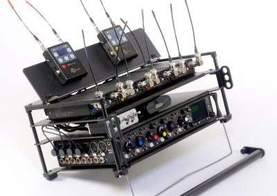 Rack N Bag Location Sound Kit - Large with Optional Large Power Distro