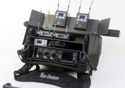 Rack N Bag Location Sound Kit - Medium with Optional Small Power Distro, Wing Kit & Boom Pole