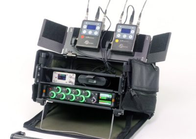 Rack N Bag Location Sound Kit - Small with Optional Small Power Distro & Wing Kit