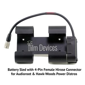 Film Devices Power Distro Battery Sled with Hirose Connector