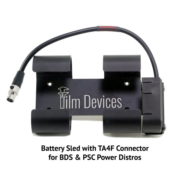 Film Devices Power Distro Battery Sled with TA4F Connector