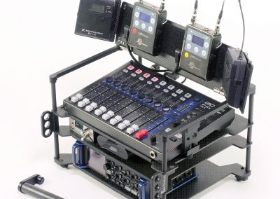 Rack-N-Bag Location Sound Bag for Zoom F8 & F-Control with Optional Small Power Distro & Wing Kit