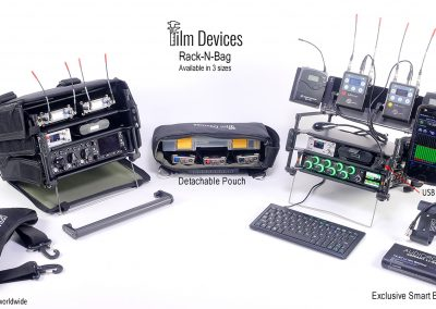 Rack-N-Bag Available in 3 Sizes & Optional Features