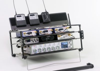 Rack-N-Bag Location Sound Bag for Zaxcom Nomad with Optional Large Power Distro