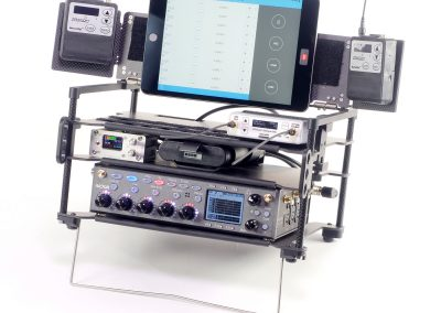 Rack-N-Bag Location Sound Bag for Zaxcom Nova with Optional Small Power Distro & Wing Kit
