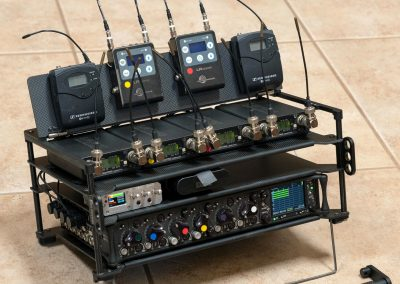 Rack-N-Bag Location Sound Bag - Large with Optional Large Power Distro