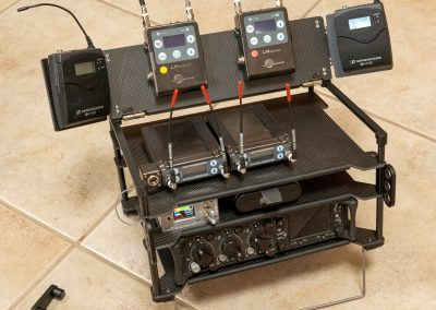 Rack-N-Bag Location Sound Bag - Medium with Optional Small Power Distro & Wing Kit
