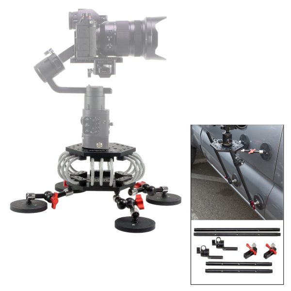 Camera Vibration Isolator 145mm with Vertical Bracing Kit